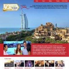 Dubai Microsite on ITTN.ie