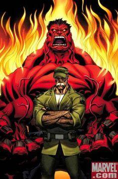 Red Hulk and Beta Ray Bill vs Apocalypse and Abomination - Battles - Comic Vine Red Hulk Marvel, Marvel Dc, Hulk Comic, Marvel Comic Universe, Marvel Comic Books, Comic Book Characters, Marvel Heroes, Marvel Characters, Comic Character