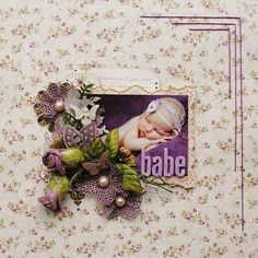 Babe... - Prima - Tea-Thyme Collection - Journaling Notecards Set