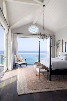 That view. Dream bedroom with a view