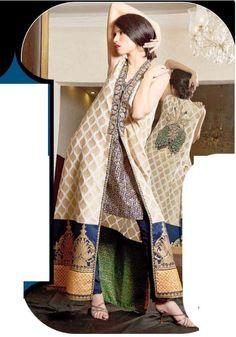 Nida Azwer Winter Dresses 2012-2013 For Women