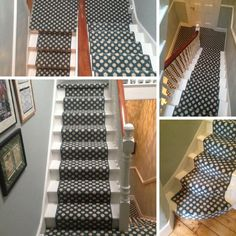 Alternative Flooring Carpet Installed To Stairs In West London Residence: # Carpet #stairs #