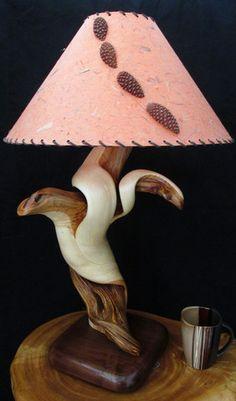 colorado log lamp artisans