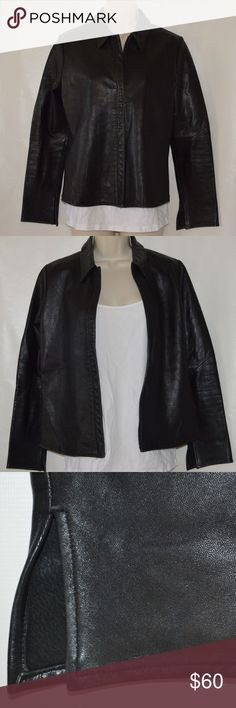 643f0c4d869 Banana Republic Leather Moto Jacket S Brand  Banana Republic Material   Leather shell