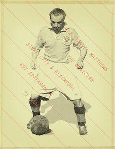 Famous Footballers 2 by Jon Rogers, via Behance