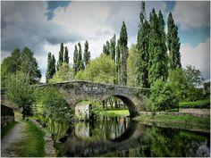 Ponte romanica de Allariz (Ourense)    Por Jose Luis Cernadas Iglesias