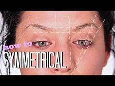 Deluxe Brows® Sticky Ruler. Eyebrow measurement tool. - YouTube