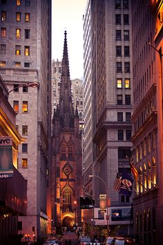 Wall Street.....New York City....