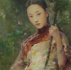 Hu Jundi (b1962, Juilin Province, China)