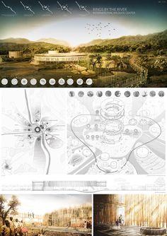Imagem 12 de 12 da galeria de IWC África anuncia os vencedores do concurso para um centro de visitantes no Parque Nacional Kruger. Menção Honrosa: Rings by the river. Cortesia de Arquideas