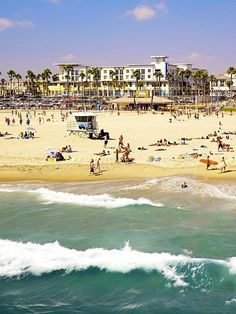 Huntington Beach, California - one month and 15 days and I'll be home!!! For a visit, anyway :)