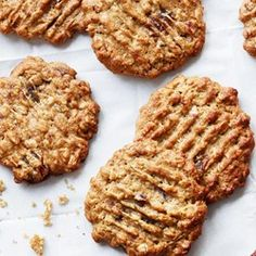 Oatmeal-Peanut Butter Cookies with Dates - EatingWell.com