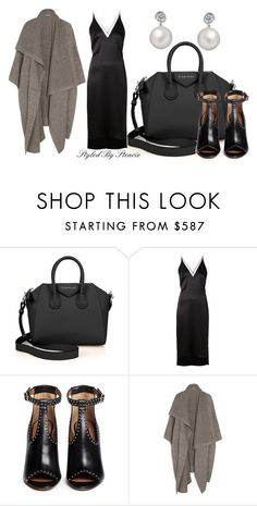 """""""The Slip"""" by stencie on Polyvore featuring Givenchy, Dion Lee, STELLA McCARTNEY, Bling Jewelry, Fall, black and slip"""
