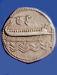 Phoenician coin Cabinet des medailles Paris Bibliotheque Nationale