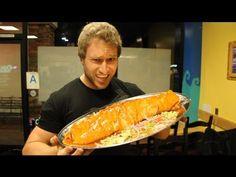 Eating an Insane 7lb Burrito   Furious Pete