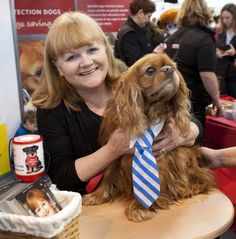 The marvelous Lesley Nicol (Downton Abbey's Mrs Patmore) adds her supports to Medical Detection dogs as an ambassador for the charity