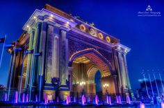 Gate of Emirates Palace by Ahmed Samir on 500px