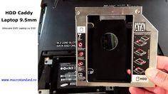 Inlocuire DVD laptop ASUS ROG GL552VX cu SSD