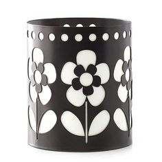 OOH LA LAMP® JACKET - FLOWERS Metal. (jacket only fits our 01258 Ooh La Lamp® - Avery) 4 1/2 x 5 1/4 inches.  Item:01267 Price:$15.00