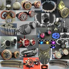 New cyber and steampunk accessories just in at Ipso Facto! Get yours' today at www.ipso-facto.com and our Fullerton, CA store.