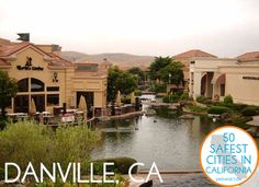There you go Maria, Danville, California. LOL safest city in Cali. It isn't Virginia, but it is Danville. San Ramon California, Danville California, California Travel, Northern California, California Living, Oakland Hills, Pacific Heights, East Bay, Small Towns