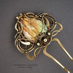 Canyon wirework hat hair pin