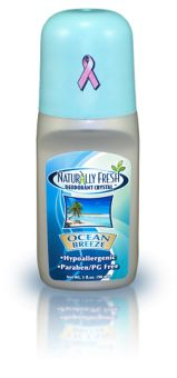 Ocean Breeze Roll On | All Natural Deodorant Crystal | Deodorant Free of Harmful Aluminum | Alum Deodorant | Deodorant Crystal