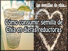 Cómo consumir semilla de Chía en dietas reductoras