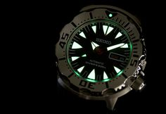 Seiko SRP313K1 New Monster Dive Watch Review   wrist time watch reviews