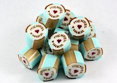 Michael & Tiara Personalised Wedding Rock Candies Wedding Candy, Personalized Wedding, Candies, Sweets, Rock, Cake, Desserts, Organization, Tailgate Desserts