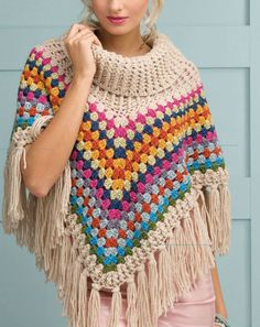 Poncho - Simply Crochet Issue 25