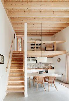 Berghütte in Vorfertigung - Holzhaus in den Pyrenäen von Mogas Arquitectes