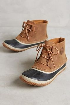Sorel Out & About Low Duck Boots #Anthropologie