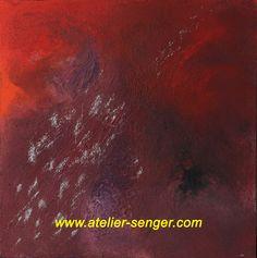 Deep Emotion, 100 x 100 cm. Please click here: www.art-senger.com #painting #art #artwork #emotion
