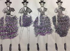 Board 10  #Japan #Samurai #AlexanderMcQueen #McQueen #Fashion #Illustration #FashionIllustration #Design #Project