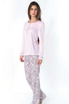 Pijama Egatex mujer modelo Fine - Homewear - Pijama mujer invierno . http://www.perfumeriaelajuar.com/homewear/pijama-mujer-invierno-/30/