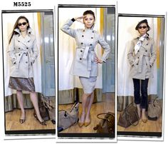 McCall's Pattern M5525 trench coat out of print