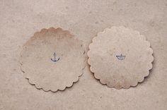 Stempelliebe Nr. 9 - Ministempel Anker und Papierboot