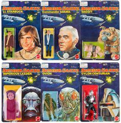 Battlestar Galactica action figures 1978