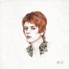David Bowie 1972 Helen Green