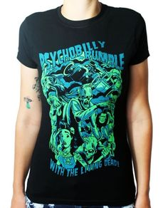 Psychobilly Rumble Womens Tee