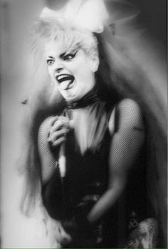 Robogiggles Nina Hagen, Rock And Roll Girl, Rock N Roll, Focus Photography, Artist Portfolio, Gothic Girls, Famous Faces, New Wave, Punk Rock