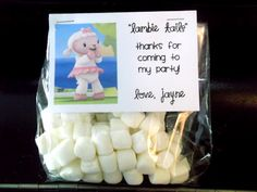 Doc McStuffins Party Favors @Heather Thompson great idea for Keeleys 4th