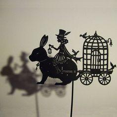 Сказочные бумажные куколки для театра теней от Isabellas Art SKRMASTER.RU — Handmade ярмарка России