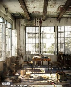 This place is a pigsty! Clean it up My Art Studio, My Dream Home, Room, Furniture, Design, Home Decor, Bedroom, My Dream House, Decoration Home