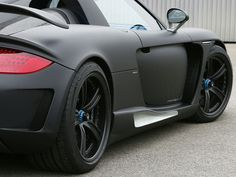 Gemballa Mirage GT Matte-Black Edition, Porsche Carrera GT5