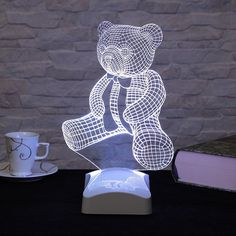 Fascinating 3D LED lamps