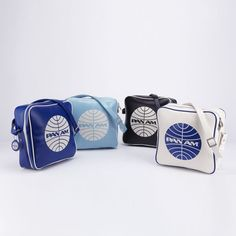 Pan Am Innovator. From the Beatles to JFK, Pan Am elite passengers in the sixties could be seen with this bag on their shoulders.