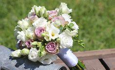 Bouquet de mariée Champêtre Parme - My Wedding Box #Francefleurs #myweddingbox