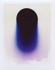 mattwaples: untitled (photographic painting using light and miscellaneous liquids) fuji 100c 2014 www.mattwaplesphoto.com